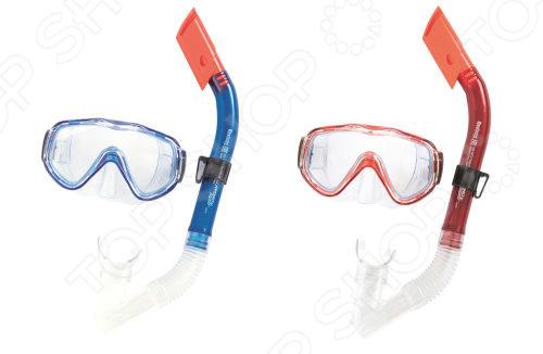 Набор для ныряния: маска и трубка Bestway «Морской дьявол». В ассортименте цена