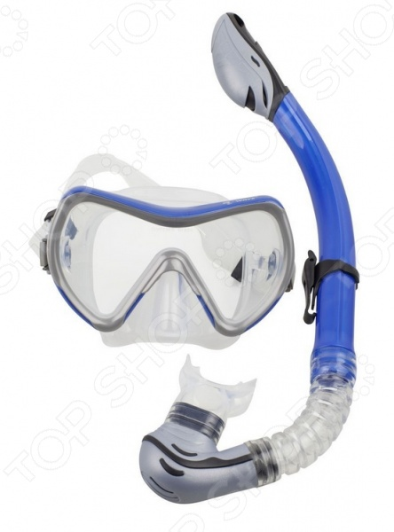 Набор из маски и трубки WAWE MS-1370S71