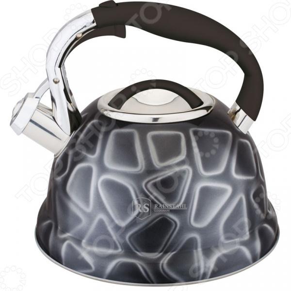 Чайник со свистком Rainstahl RS/WK-7639-27. В ассортименте чайник со свистком rainstahl 7600 27rs wk в ассортименте