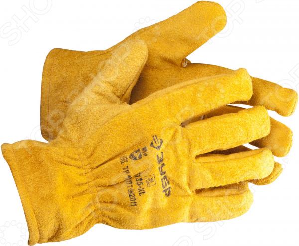 Перчатки рабочие кожаные Зубр «Мастер» 1135-XL перчатки рабочие кожаные xl