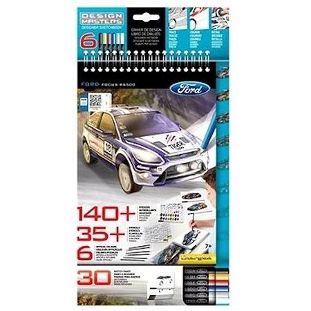 Купить Набор с эскизами и трафаретами Desing Masters Ford Focus RS500