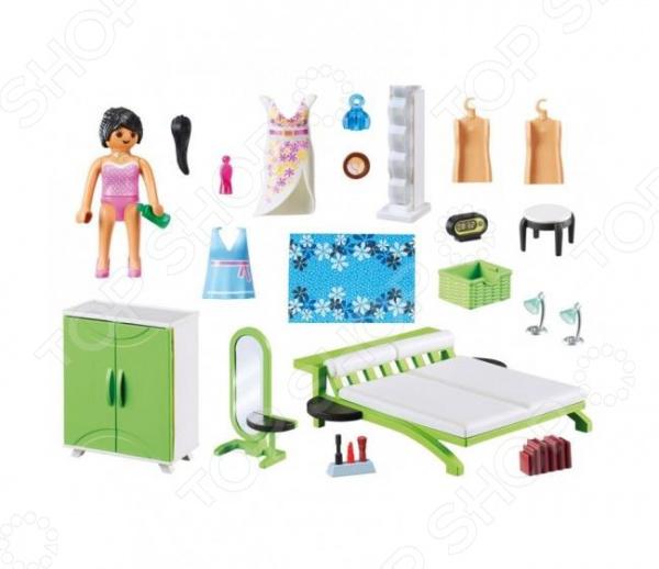 Домик кукольный с аксессуарами Playmobil «Спальня»
