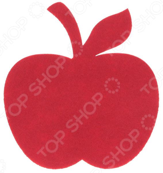 Подставка под горячее Marmiton «Яблоко» подставка под горячее marmiton цветочек цвет розовый диаметр 11 см