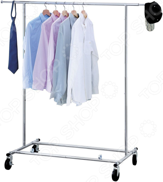 Стойка для одежды Tatkraft Drogo стойка для одежды tatkraft drogo на колесах складная