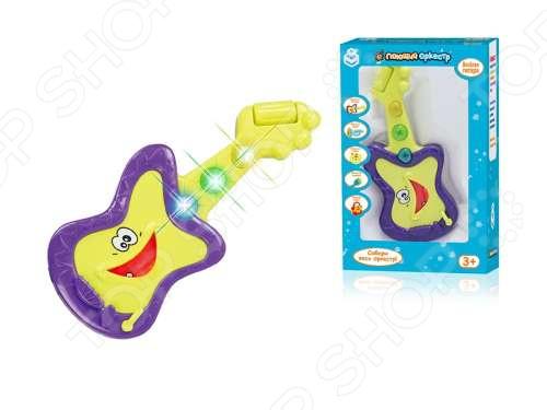 Гитара игрушечная 1 Toy «Поющий оркестр» Гитара игрушечная 1 Toy «Поющий оркестр» /