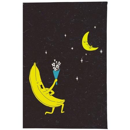 Купить Обложка для паспорта кожаная Mitya Veselkov «Влюбленный банан»