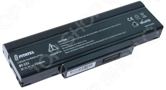 Аккумулятор для ноутбука Pitatel BT-131 для ноутбуков Asus F2/F3/Z53/M51