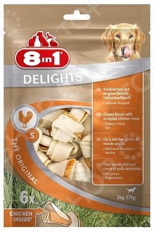 8 in 1 DELIGHTS S с куриным мясом в пакете 102564