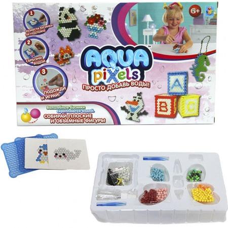 Купить Набор для детского творчества 1 Toy Aqua pixels «Веселые животные»
