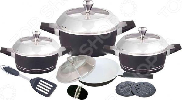 Набор кухонной посуды BartonSteel BS-6813