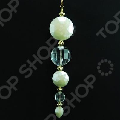 Новогоднее украшение Crystal Deco «Шарики жемчужные»