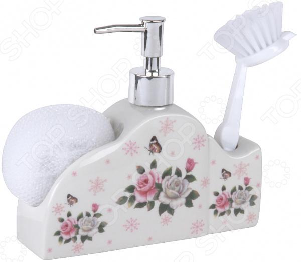 Дозатор для моющего средства Rosenberg RCE-335014 набор для ванной комнаты rosenberg rce 350004 3