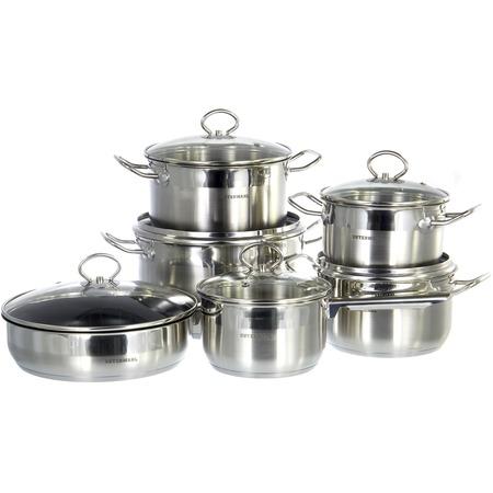 Купить Набор посуды для готовки Guterwahl набор посуды (12) (2) GS-0117-12NSG