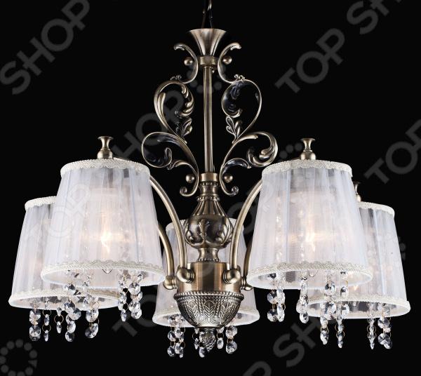 Люстра потолочная Natali Kovaltseva Versailles 75002-5C ANTIQUE BRASS Natali Kovaltseva - артикул: 1686899