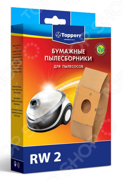 Фильтр для пылесоса Topperr RW 2 rowenta dymbo rs 008 турбо щ тка