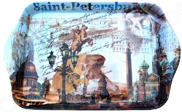 Поднос сервировочный Gift'n'home «Виват Петербург!» Gift'n'home - артикул: 1754367