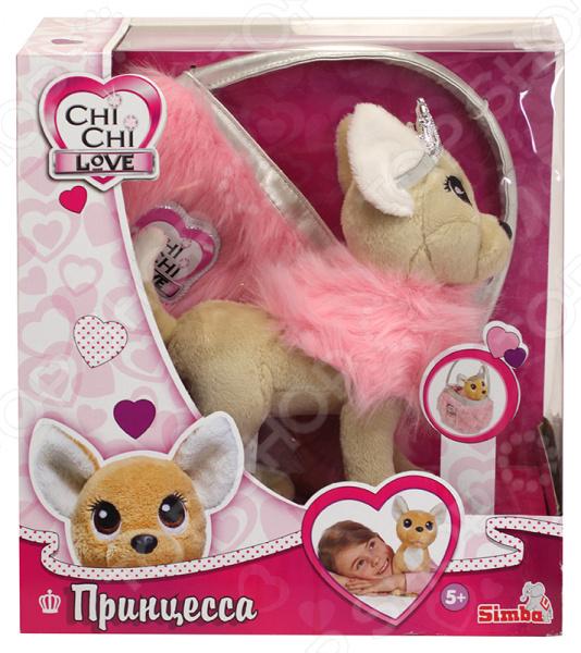 Zakazat.ru: Мягкая игрушка Simba CHI CHI LOVE «Собачка-принцесса с пушистой сумкой»
