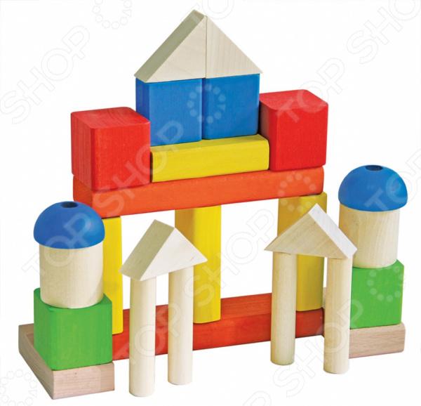 Конструктор для малышей КРАСНОКАМСКАЯ ИГРУШКА «Малыш» краснокамская игрушка деревянный конструктор малыш