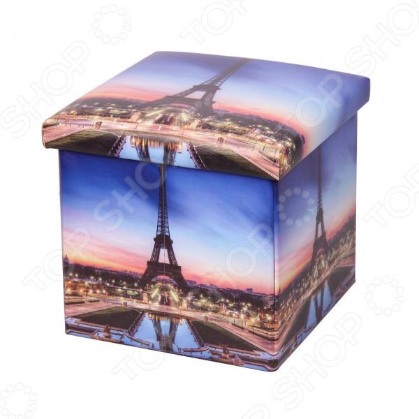 Пуф-короб для хранения Miolla Paris «Эйфелева башня» Miolla - артикул: 1699843