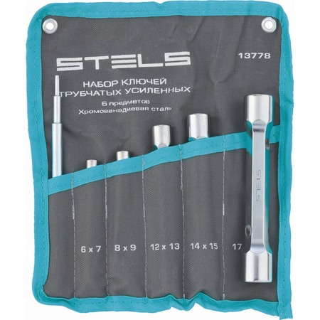 Купить Набор ключей-трубок торцевых усиленных Stels 13778