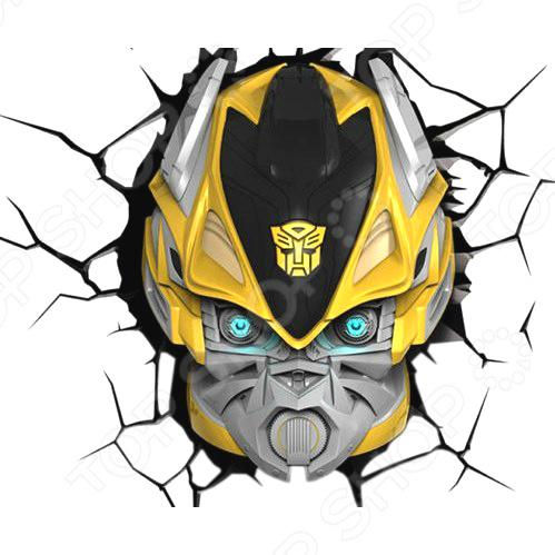 Пробивной светильник 3DlightFX Transformers BumbleBee
