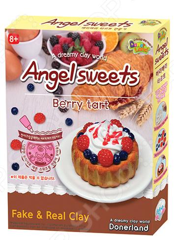 Набор для лепки Doner Land Angel Sweets Berry Tart