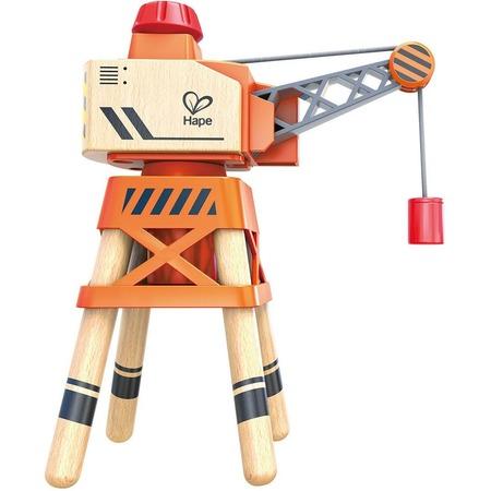 Купить Машинка игровая Hape «Подъемный кран со стрелой»