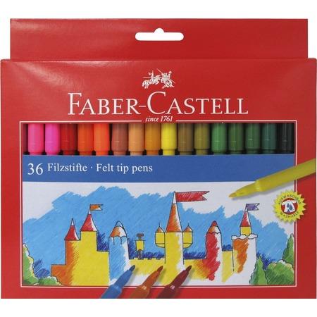 Набор фломастеров Faber-Castell Eberhard Faber Замок 554236