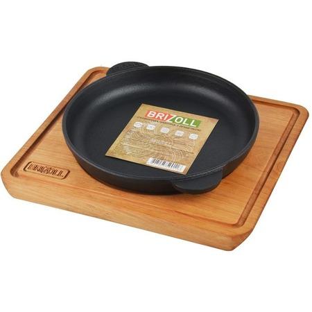 Купить Сковорода порционная с подставкой Brizoll НД