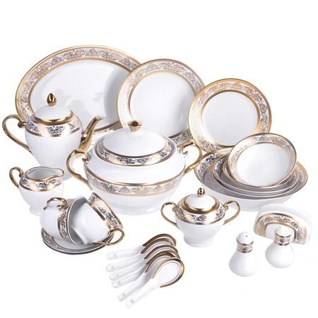 Купить Сервиз столовый «Золотое совершенство». Количество предметов: 50