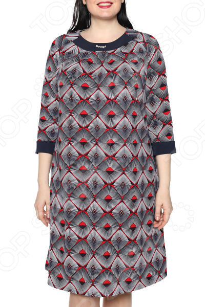 Платье Лауме-Лайн «Дама сердца». Цвет: бордовый