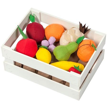 Купить Набор игровых аксессуаров PAREMO «Ящик с фруктами». Количество предметов: 10 шт