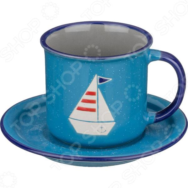 Чайная пара Lefard «Корабль» 153-782
