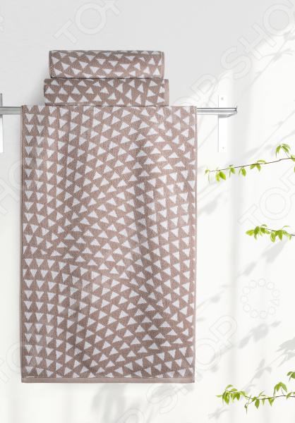 Полотенце махровое Aquarelle «Борнео вид 2». Цвет: мокко, белый полотенце махровое aquarelle борнео вид 1 цвет мокко белый