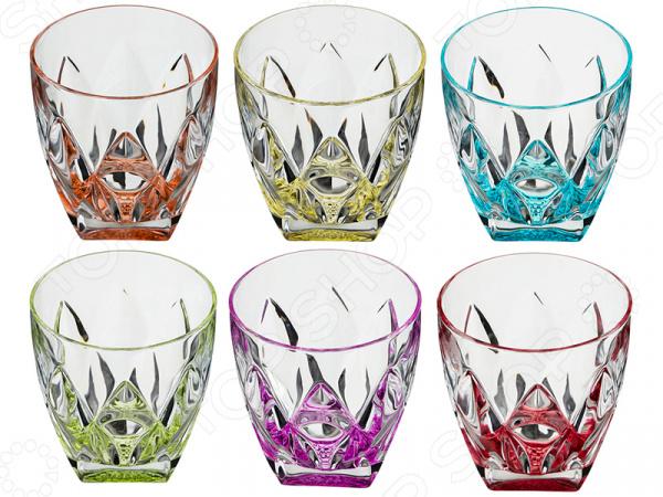 Набор стаканов для виски RCR «Кувшинка» 305-600 набор стаканов rcr имперо 305 112
