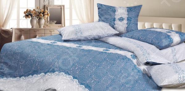 Комплект постельного белья Ecotex «Морская волна» постельное белье ecotex комплект постельного белья герцогиня