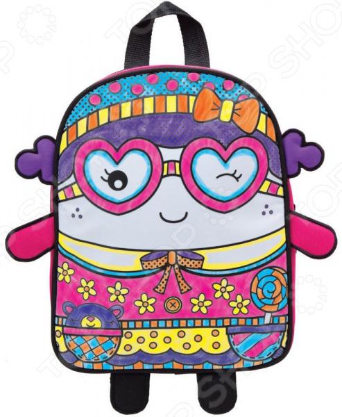Набор для росписи Alex «Раскрась рюкзак: Симпатяшка» Набор для росписи Alex «Раскрась рюкзак: Симпатяшка» /