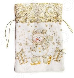 Мешок для подарка Новогодняя сказка 972425. В ассортименте