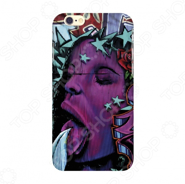 Чехол для IPhone 6 Mitya Veselkov Graffiti Girl
