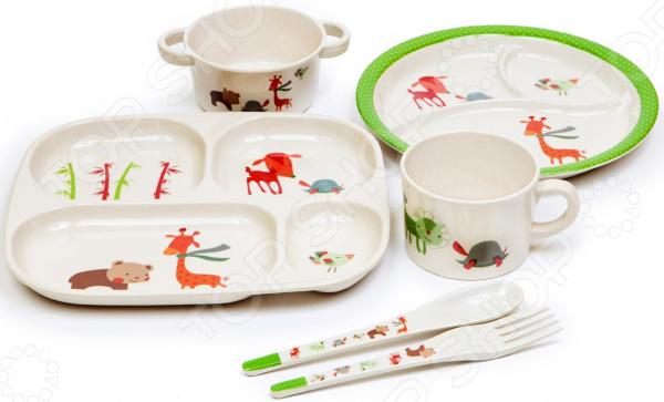 Набор посуды для детей MoulinVilla TSF-10-B