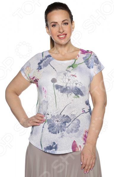 Блуза Blagof Блуза «Мерси». Цвет: сиреневый
