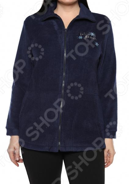 Пуловер El Fa Mei «Мягкое мгновение». Цвет: синий