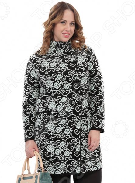 Кардиган Milana Style «Теплота и уют». Цвет: бирюзовый платье milana style milana style mi038ewxjv28