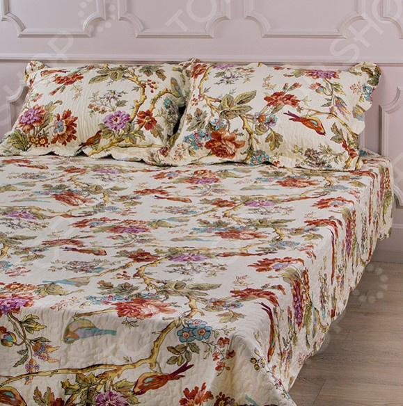 Комплект для спальни: покрывало и наволочки Santalino 806-003 для спальни