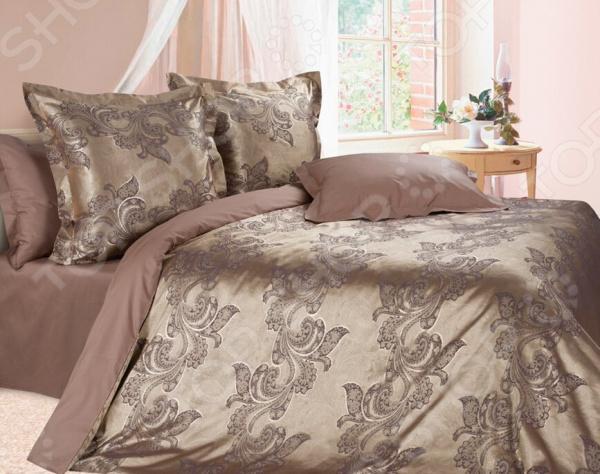 Комплект постельного белья Ecotex «Флокатти». Евро постельное белье ecotex комплект постельного белья герцогиня
