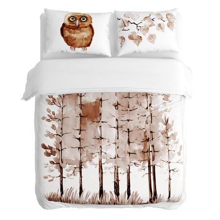 Купить Комплект постельного белья Сирень «Сны»