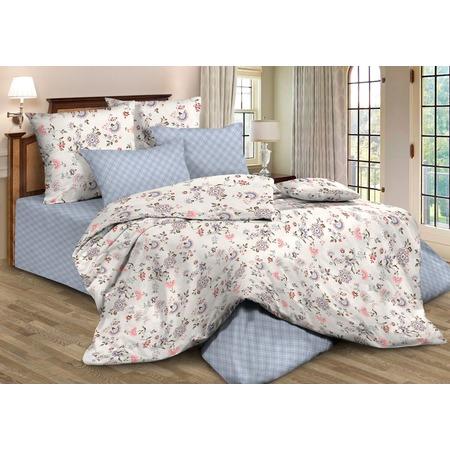 Купить Комплект постельного белья Guten Morgen 795. 1,5-спальный. Цвет: голубой