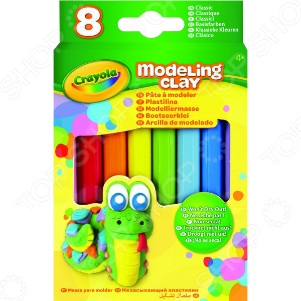 Набор пластилина Crayola «Классика» Набор пластилина Crayola «Классика» /