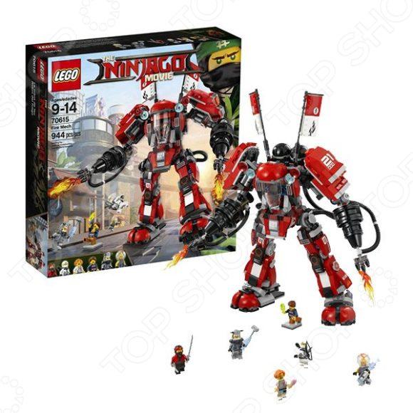 Конструктор игровой LEGO «Огненный робот Кая»