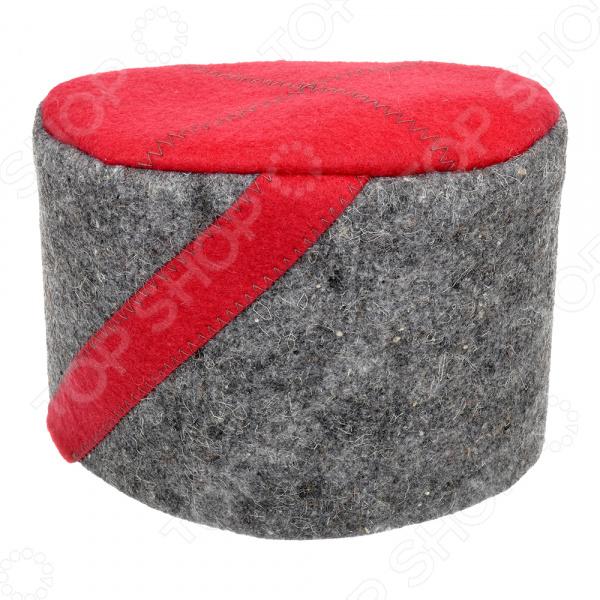 Шапка для бани и сауны Hot Pot «Папаха» 41239 асепта